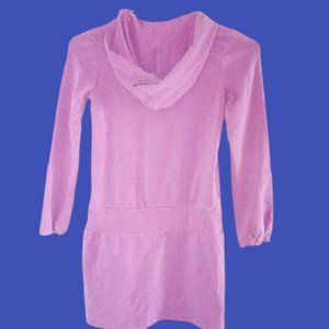 Short Hooded Dress or Tunic Hoodie Girl Size 8